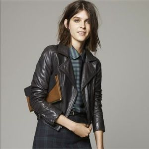 Madewell Perfect Leather Motorcycle Jacket